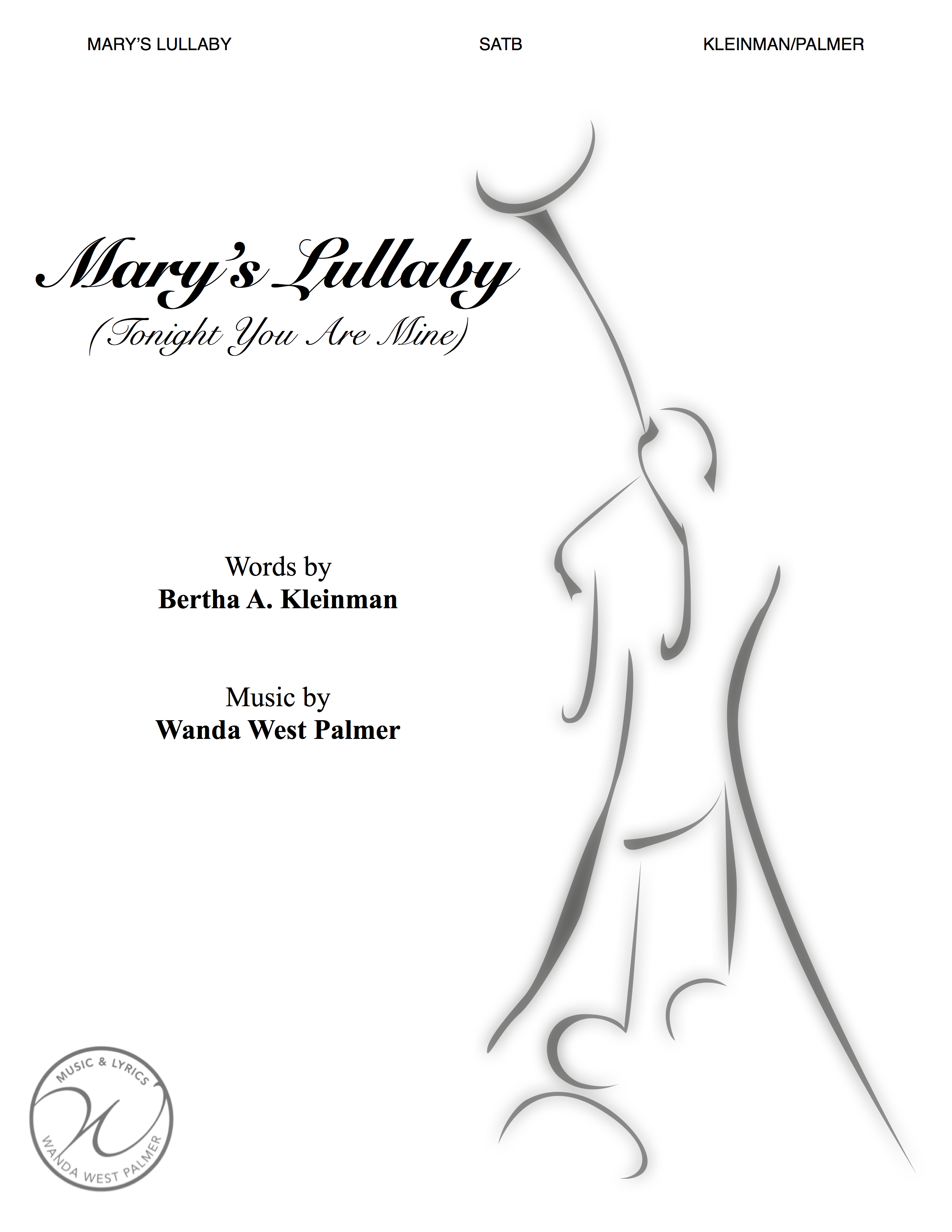 Mary's Lullaby - SATB